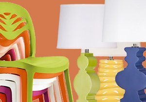 Show Your True Colors: Rugs, Lights & Chairs
