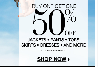 Buy one, get one 50% off our NEW @Work Collections!
