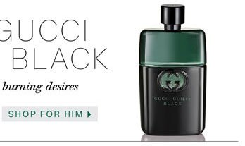 NEW GUCCI GUILTY BLACK. Shop for Him.
