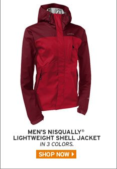 Nisqually® Lightweight Shell Jacket