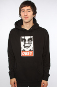 <b>Obey</b><br />The OG Face Hoody in Black