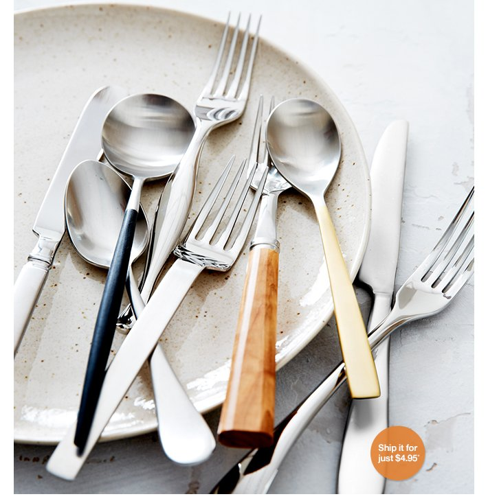 Shop new flatware