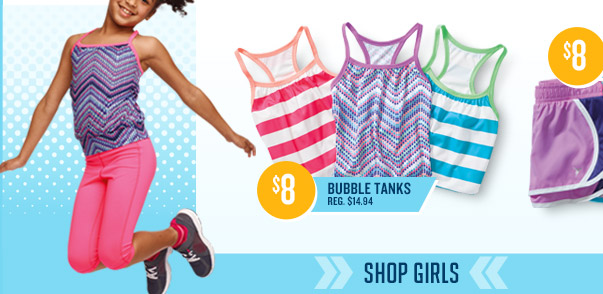 $8 BUBBLE TANKS REG. $14.94 | SHOP GIRLS