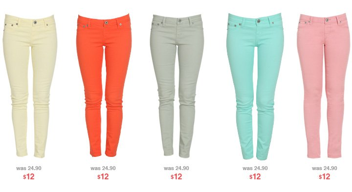Shop $12 Jeggings