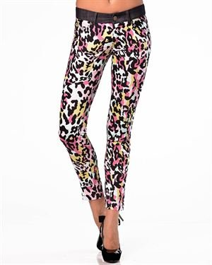 Isabel Queen Multicolor Pocket Capris Made In Italy $49