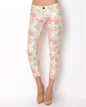 Etienne Marcel Fleur Rose Jeans