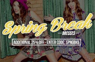 Spring Break: Dresses