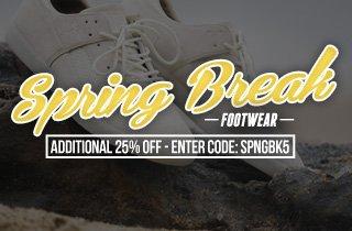 Spring Break: Footwear
