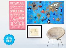 Add Some Fun Kids' Playroom Art