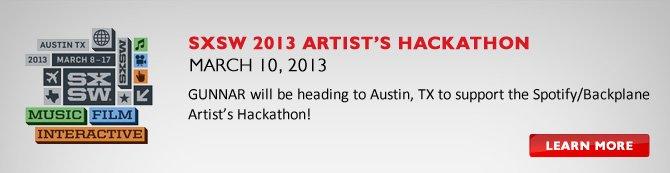 SXSW 2013 Artist's Hackathon