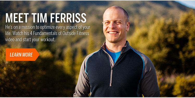 Meet Tim Ferriss Learn More