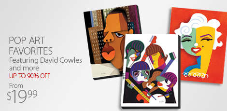 Pop Art Favorites: Featuring David Cowles and More