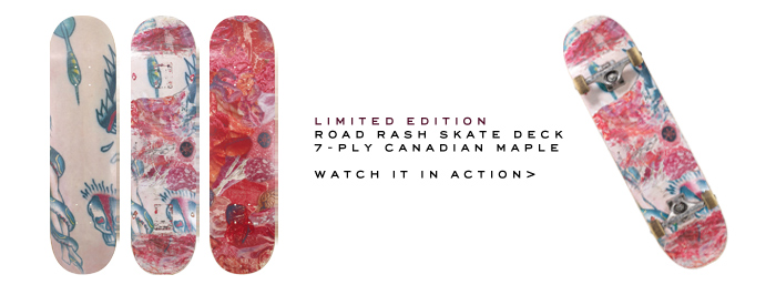Marc Jacobs | Road Rash Skate Deck