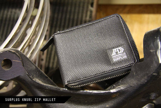 Surplus Knurl Zip Wallet