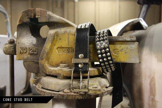 Cone Studded Belt