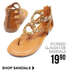 Stock up on Sandals