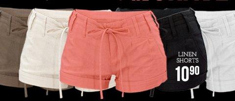 Shop Linen Shorts