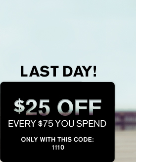Receive $25 Off Every $75 You Spend