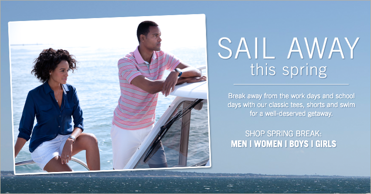 Sail Away This Spring!