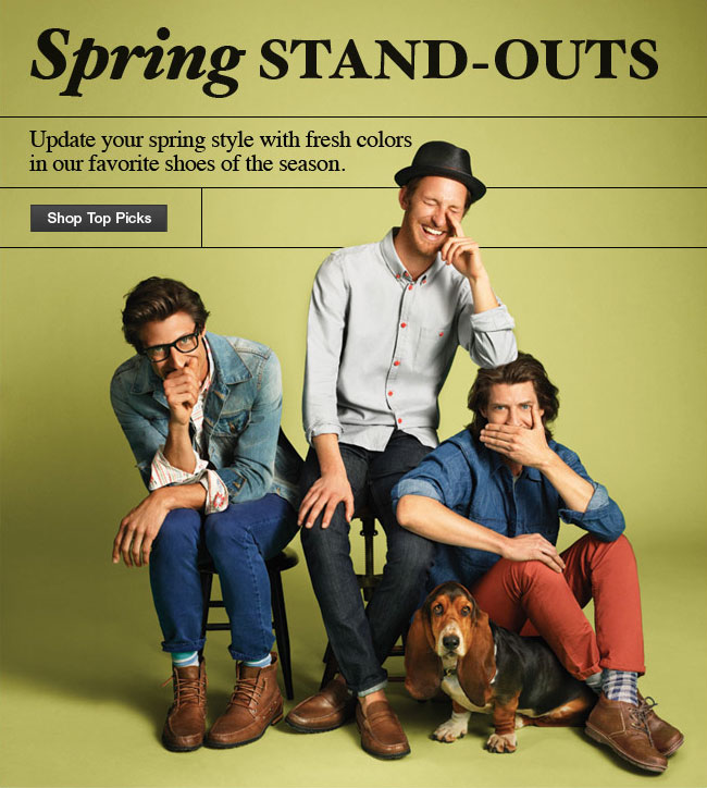 Spring Stand-Outs Shop Top Picks