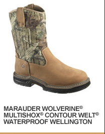 Marauder Wolverine Multishox Contour Welt Waterproof Wellington