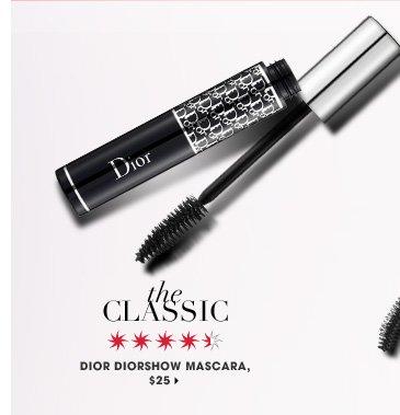 The Classic. Dior Diorshow Mascara, $25