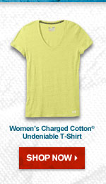 Women's Charged Cotton® Undeniable T-Shirt – Shop Now