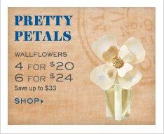 Mix & Match Wallflowers - 4 for $20