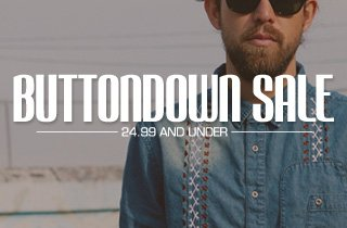 Buttondown Sale