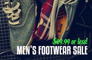 Men's Footwear Sale