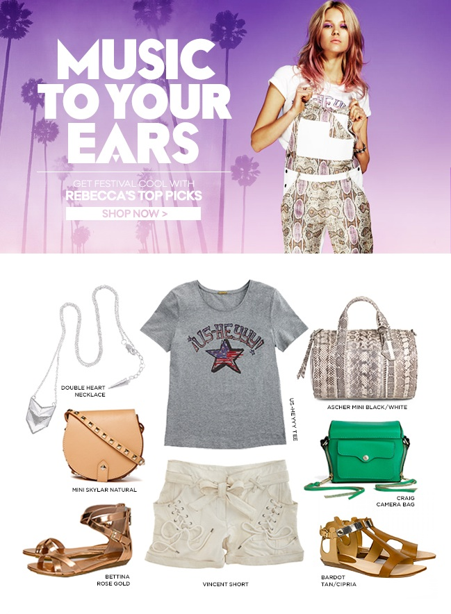 Music To Your Ears: Get Festival Cool with Rebecca's Top Picks