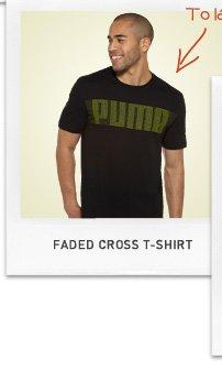 FADED CROSS T-SHIRT