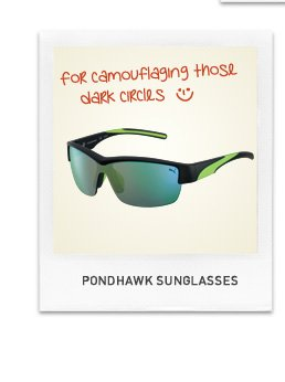 PONDHAWK SUNGLASSES
