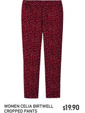 Celia Birtwell Cropped Pants