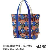 Celia Birtwell Canvs Tote Bag (large)