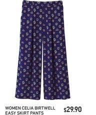 Celia Birtwell Easy Skirt Pants