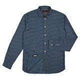 Paul Smith Shirts - Blue Paisley Print Shirt
