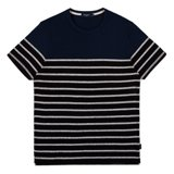 Paul Smith T-Shirts - Black Breton Stripe T-Shirt