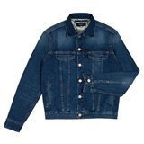 Paul Smith Jackets - Mid-Wash Western Denim Jacket