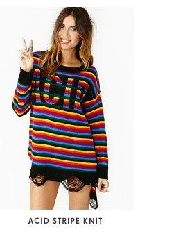 Acid Stripe Knit