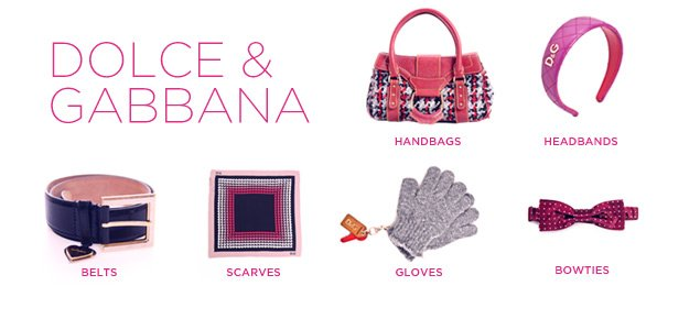 Dolce & Gabbana Handbags & Accessories