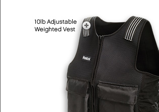 10lb adjustable weighted vest