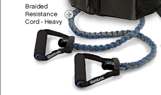 Braided resistance cord–heavy