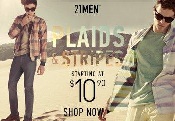 21MEN Plaids & Stripes - Shop Now