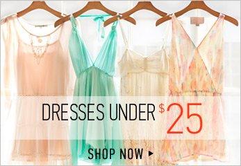 Dressds Under $25 - Shop Now