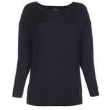 Paul Smith Knitwear - Navy Oversized Button Back Jumper
