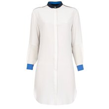Paul Smith Dresses - White Contrast Back Shirt Dress