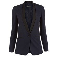 Paul Smith Jackets - Navy Shawl Collar Tuxedo Jacket