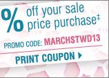 IN-STORE AND ONLINE storewide savings! Ends tomorrow! Up to an EXTRA 20% off your sale price purchase‡ Print coupon