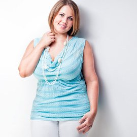 True Blue: Plus-Size Apparel